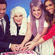 Let them eat cake! Kelly Osbourne celebrates 100th episode of Fashion Police with Joan Rivers and Giuliana Rancic