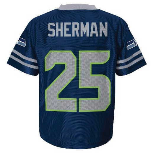 20162017 Seahawks RICHARD SHERMAN nfl INFANT BABY NEWBORN Jersey 12M 12 M  eBay
