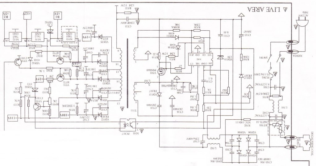 china tv circuit diagram pdf - circuit diagram images on schematic for  a processor,