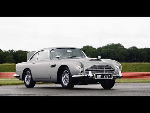 This Aston Martin DB5 Comes With a Rear Smoke Screen and Twin Front 'Machine Guns'