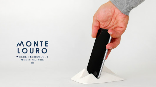Montelouro: Ceramic phone and tablet stand / Limited Edition