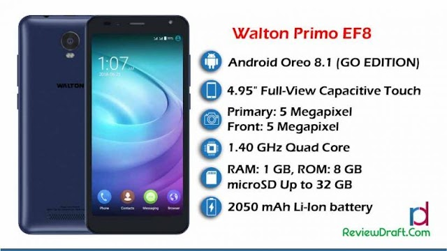 Walton Primo EF8 Price in Bangladesh, Full Specification