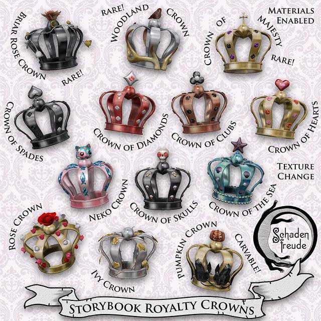 storybook royalty crowns
