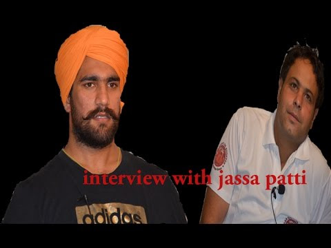 Interview with Cemeberity Wrestler - Jassa Patti