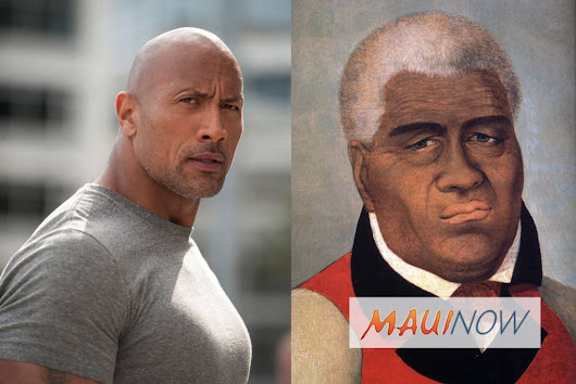 "Maui Now: Dwayne ""The Rock"" Johnson to Play Kamehameha I in New Film, THE KING"