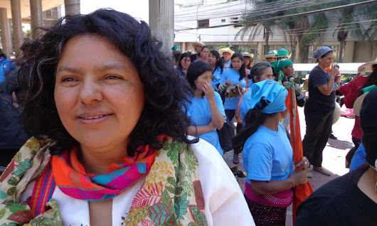 Berta Cáceres, Honduran environment and human rights activist, murdered | World news | The Guardian
