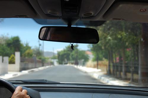 greece - aegina - taxi