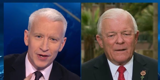 WATCH: Anderson Cooper Demolishes Homophobic Politician