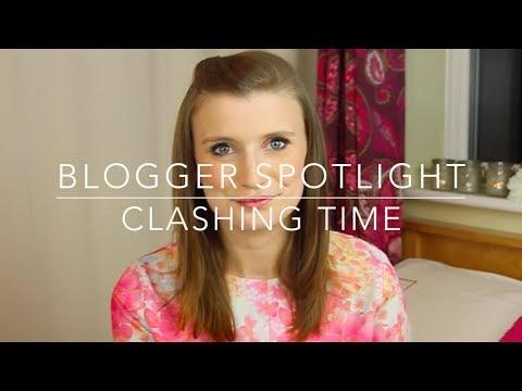 Clashing Time talks The Blogger Spotlight