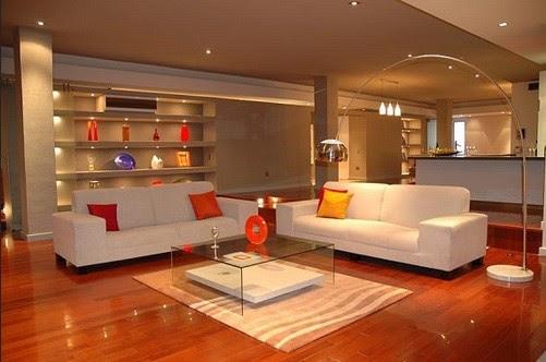 Luxurious Living Room lighting