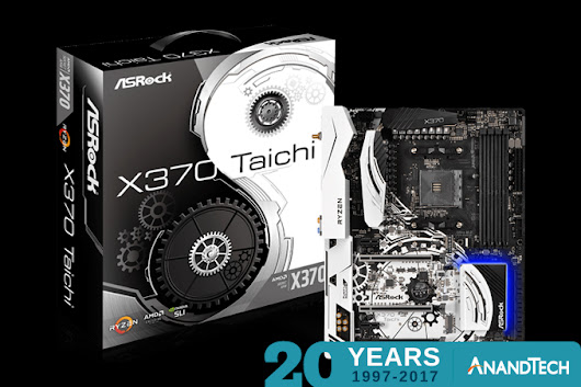 AT20 Giveaway Day 9: ASRock Gives Your Ryzen an X370 Taichi Motherboard