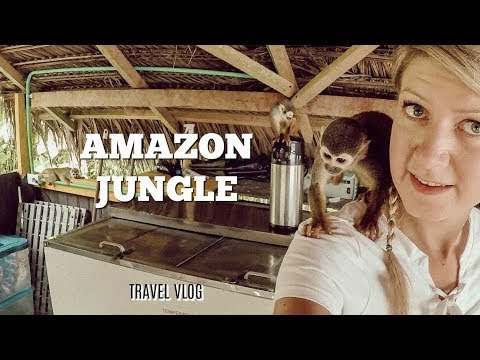 Sleeping in the Amazon jungle - travelling in Colombia | AGA'S SUITCASE