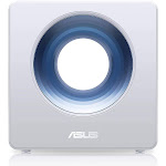 ASUS Blue Cave Wireless Router - 4 Port Switch - GigE - 802.11a/b/g/