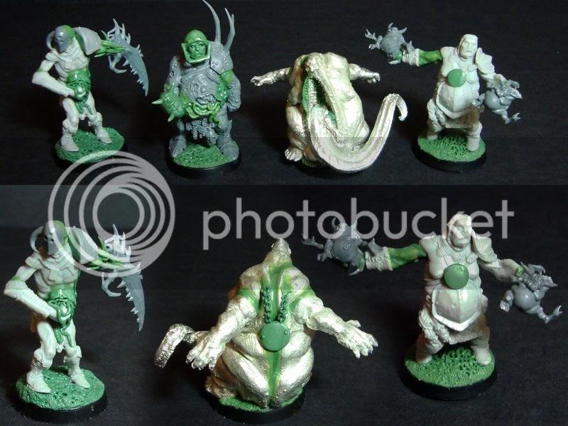 Mr Bug Man Beast Of Nurgle And Chaos Warriors