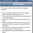 iOS 6.0.1 update available including Exchange Meetings Bug Fix