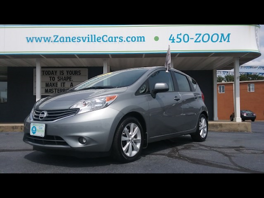 2014 Nissan Versa Note SL for sale at Car Nation | Used Cars Zanesville