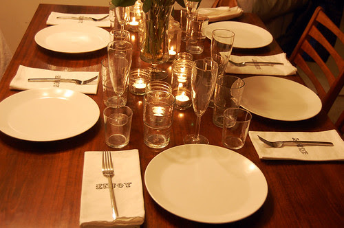new year's eve table