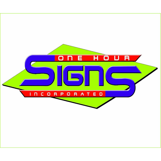 One Hour Signs