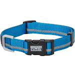 Weaver Leather 07-0855-r2 Small Terrain Reflective Snap-N-Go Collar - Blue