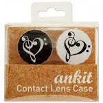 Heart Treble Print Contact Lens Case (pack Of 24) freeshipping - GreatEagleInc