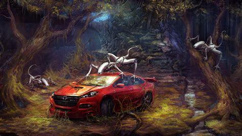 Dodge Viper Robot Invasion 4K Wallpaper   4K Wallpaper   Ultra HD 4K Wallpapers