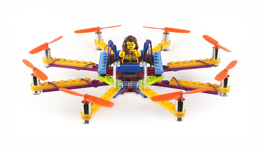 Flybrix Kits Make Your Own Rebuildable Drones using LEGO® bricks