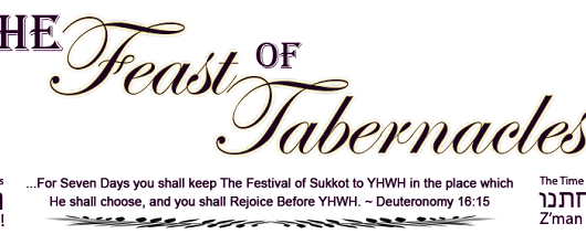 Register — The Feast Of Tabernacles | Sukkot