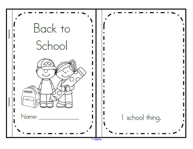 Back To School Preschool Theme Activities KidSparkz