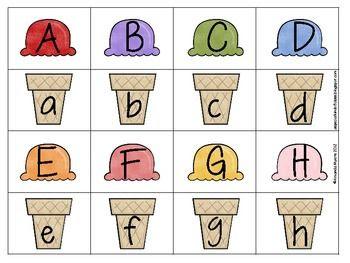 Free Printable Alphabet Memory Game