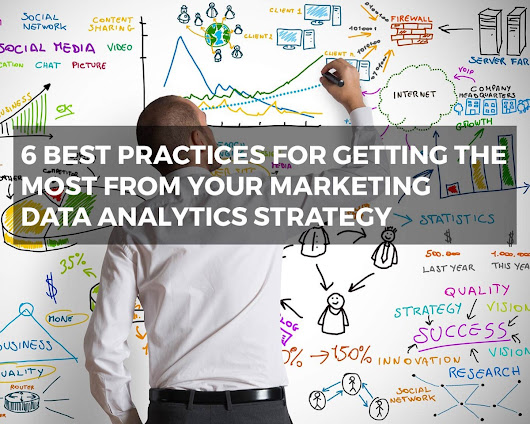 6 Best Practices for Getting the Most from Your Marketing Data Analytics Strategy