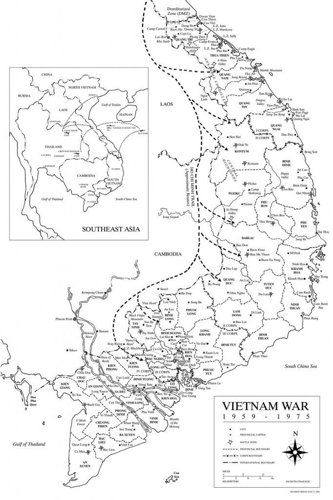 Map Of Vietnam Vietnam War Landmarks Map Nyc Veterans