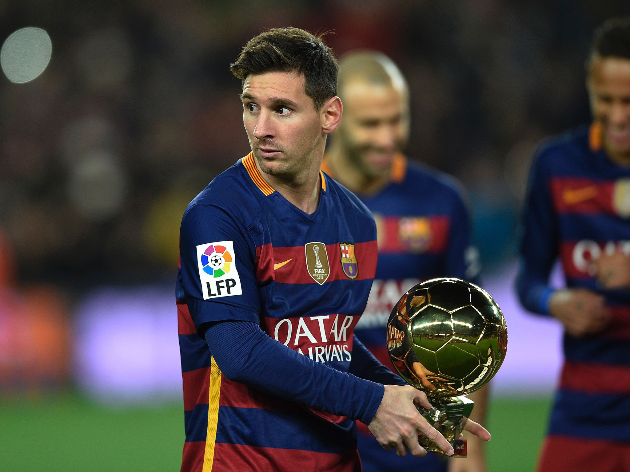 Lionel Messi rules out leaving Barcelona for another ...