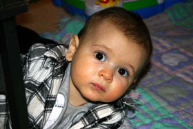 Maximilian at 8 months.