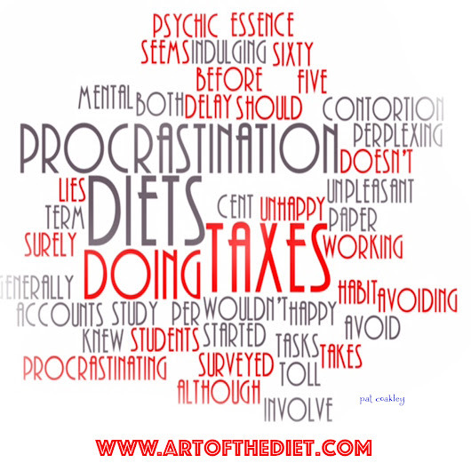 Procrastinate Now. Don't Wait. Part 1. PODSNACKS-Art of the Diet 082-[ReBroadcast] — Art of the Diet