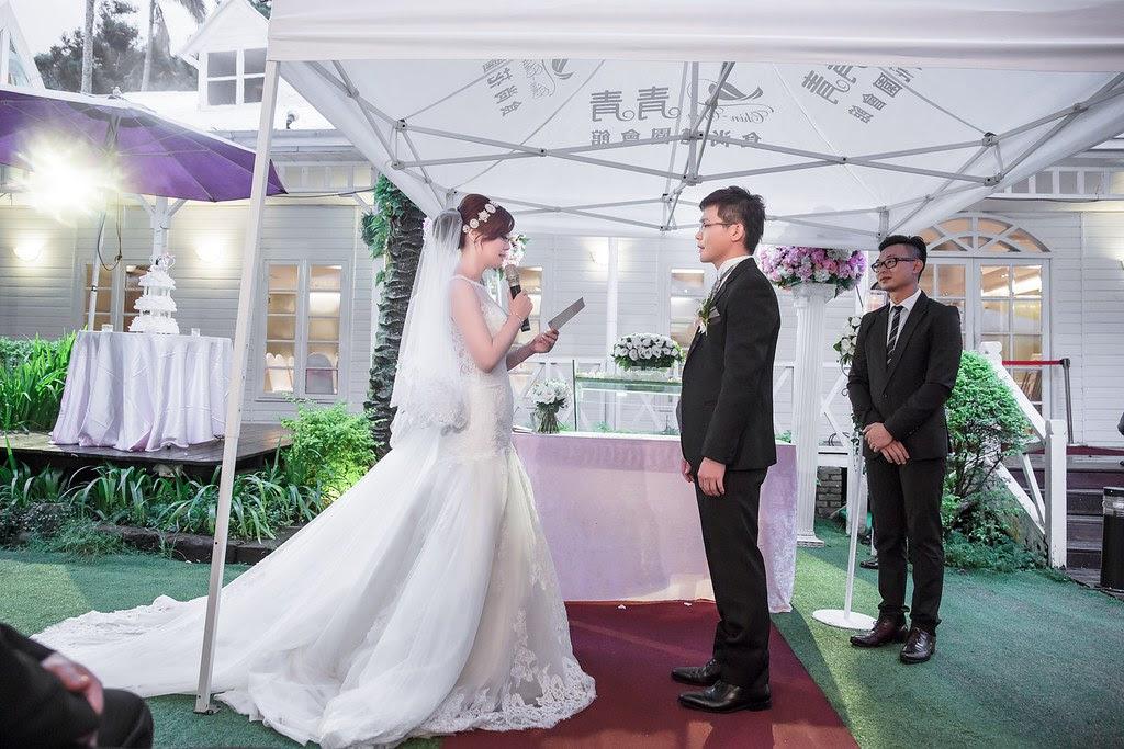 087青青時尚會館戶外婚禮