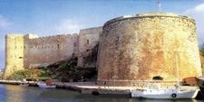 Fortaleza veneciana de Kyrenia. (República Turca del Norte de Chipre)