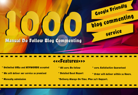 I will create 1000 do follow blog comments