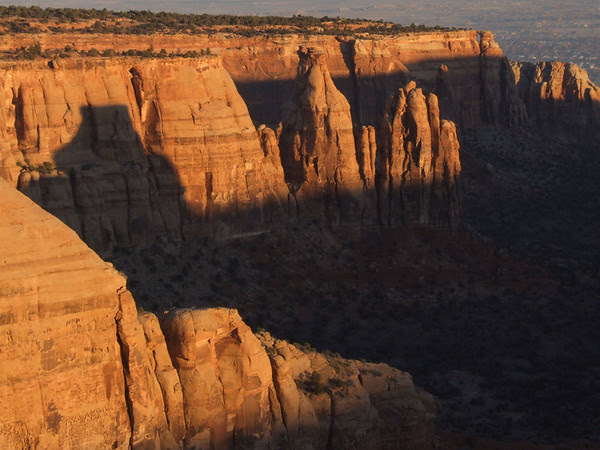 Sunrise on Colorado National Monument