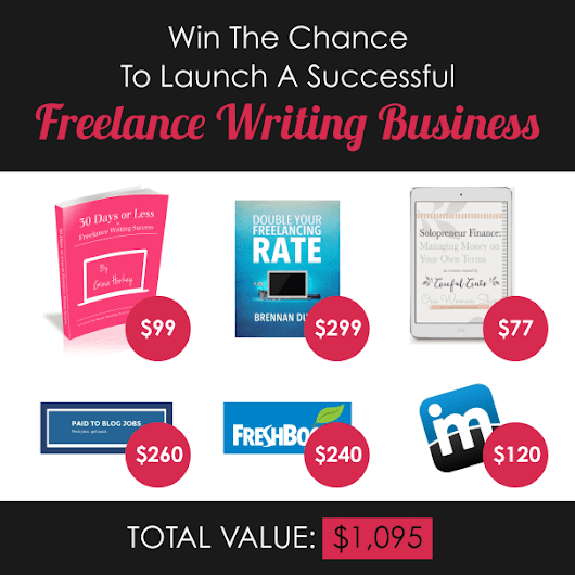 The Most Epic Aspiring Freelance Writer Giveaway Ever (a $1,095 value!) - Horkey HandBook