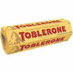 Toblerone Swiss Milk Chocolate with Honey and Almond Nougat, 21.12 oz.