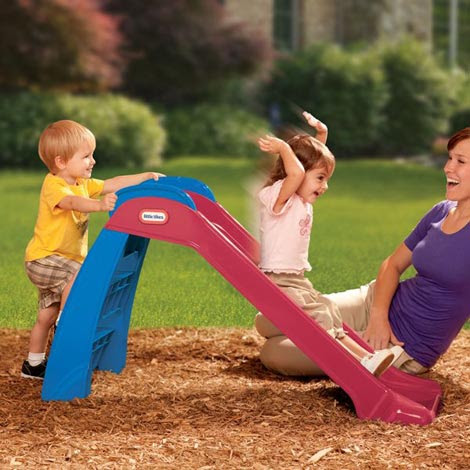 The Little Tikes First Slide Is The Perfect Beginning Playset