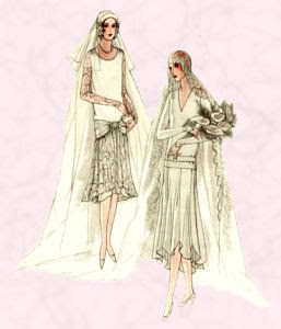McCall's bridal patterns for 1928