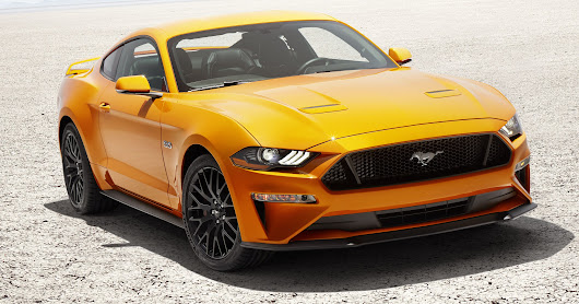 Ford gives Mustang a longer nose, fresh new look