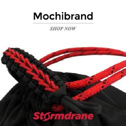 Stormdrane x Mochibrand Drawstring Backpack Venom