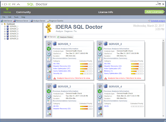 SQL Doctor for Complete Performance Tuning - Tool | IDERA