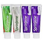 Sprinjene Natural Adult Toothpaste Combo, 4-Pack, Sensitivity Fluoride Free