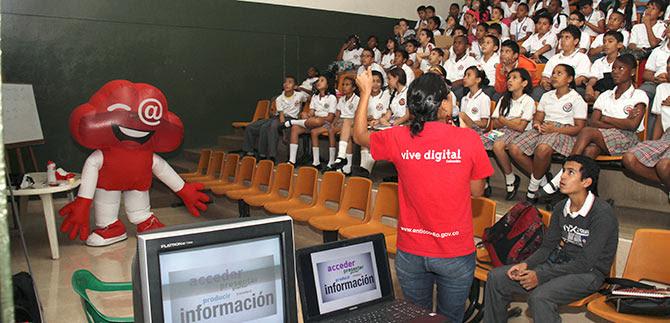 Programa En TIC Confío llegó a los alumnos de cinco instituciones de Cali
