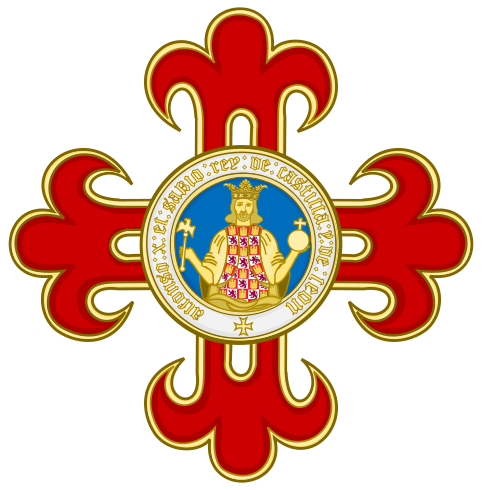 File:Insignia, Grand Cross and Star of the Civil Order of Alfonso X, the Wise.svg