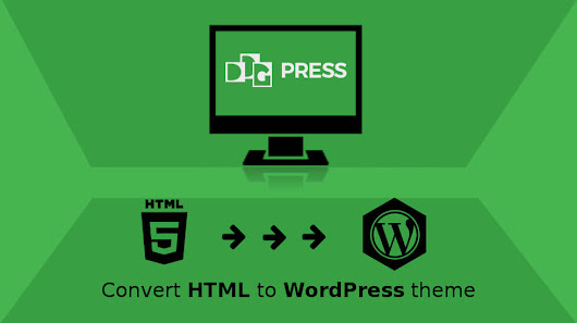 Convert HTML to WordPress theme - DDGPRESS