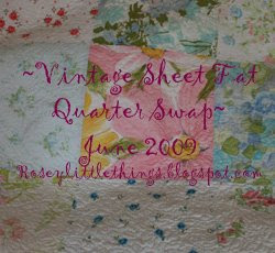 vintage sheet swap